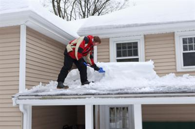 Roof shoveling in Hastings on Hudson NY