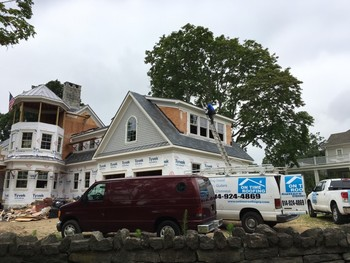 New Home Roof Installation