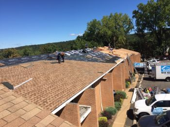 Commercial roofing in Ossining by On Time Remodeling Corp
