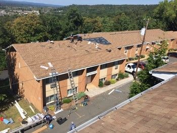 Commercial Roof Replacement by On Time Remodeling Corp