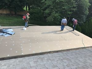 EPDM Flat Rubber Roof in Spring Valley, NY (1)