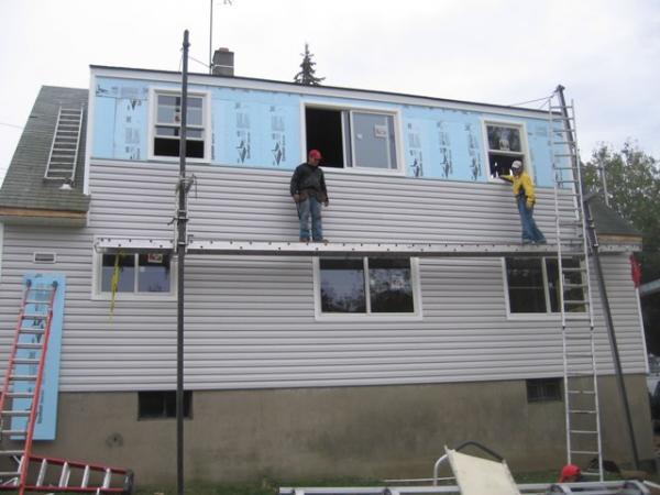 Siding by On Time Remodeling Corp