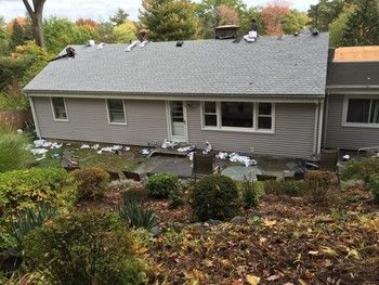 After New Shingle Roof Installation by On Time Remodeling Corp in Spring Valley, NY